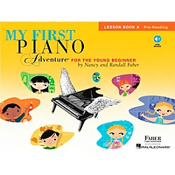 Faber Music My First Piano Adventure For The Young Beginner Lesson Bk A Pre-reading With Book/CD (420259)
