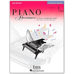 Faber Music Piano Adventures Lesson Book Level 1 (420171)