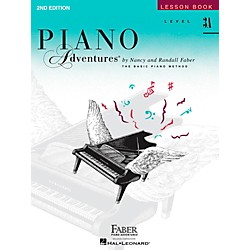 Faber Music Piano Adventures Lesson Book Level 3A (420180)