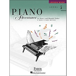 Faber Music Piano Adventures Lesson Book Level 5 - Faber Piano (420186)