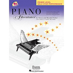 Faber Music Piano Adventures Primer Level Gold Star Performance Book/CD - Faber Piano (420255)