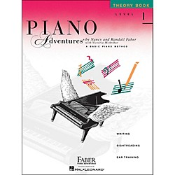 Faber Music Piano Adventures Theory Book Level 1 (420172)