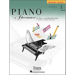 Faber Music Piano Adventures Theory Book Level 5 - Faber Piano (420187)