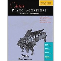 Faber Music Piano Sonatinas Book 4 Early Advanced - Faber Piano (420202)