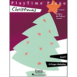 Faber Music Playtime Piano Christmas Level 1 F-Finger Melodies - Faber Piano (420111)