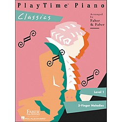 Faber Music Playtime Piano Classics Level 1 5 Finger Melodies - Faber Piano (420127)