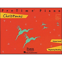 Faber Music Pretime Piano Christmas Primer Level Beginning Reading - Faber Piano (420124)