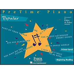 Faber Music Pretime Popular Primer/Beginning Reading (420151)
