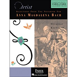 Faber Music Selections From The Notebook For Anna Magdalena Bach - Faber Piano (420158)