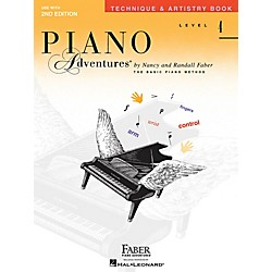 Faber Music Technique & Artistry Level 4 Faber Piano Adventures Second Edition Book (420339)