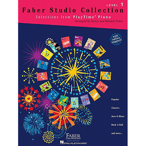 Faber Piano Adventures Faber Studio Collection - Selections from PlayTime® Piano Level 1-thumbnail