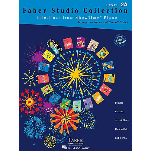 Faber Piano Adventures Faber Studio Collection - Selections from ShowTime® Piano Level 2A-thumbnail