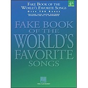 Hal Leonard Fake Book Of The World's Favorite Songs 4th Edition - Over 735 Songs
