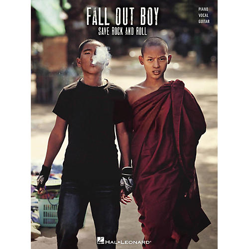 Hal Leonard Fall Out Boy - Save Rock And Roll Piano/Vocal/Guitar (PVG)-thumbnail