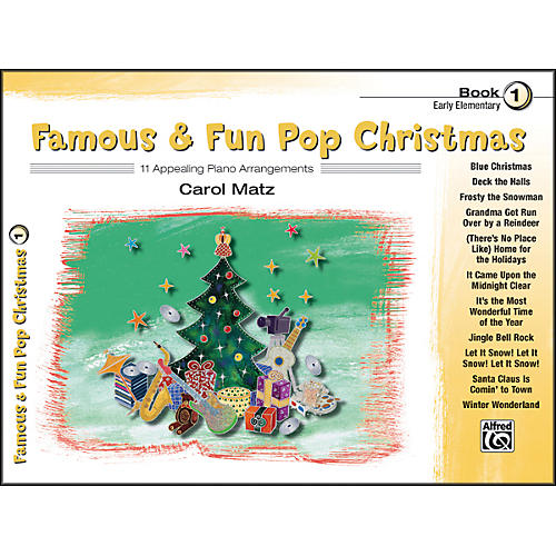 Alfred Famous & Fun Pop Christmas Book 1