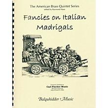 Carl Fischer Fancies on Italian Madrigals Book