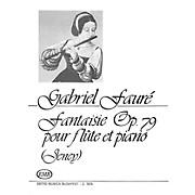 Editio Musica Budapest Fantaisie Op.79 EMB Series by Gabriel Fauré