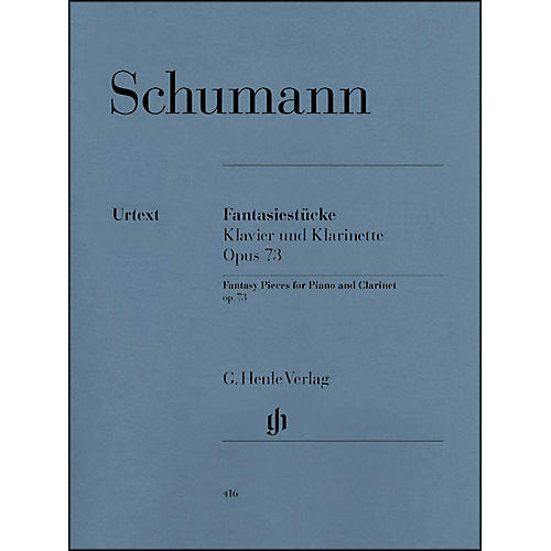 G. Henle Verlag Fantasy Pieces for Piano And Clarinet (Or Violin Or Violoncello) Opus 73 By Schumann-thumbnail