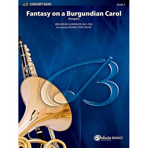 BELWIN Fantasy on a Burgundian Carol Concert Band Grade 3 (Medium Easy)-thumbnail