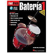 Hal Leonard Fasttrack Bateria 1 Book with CD - Spanish