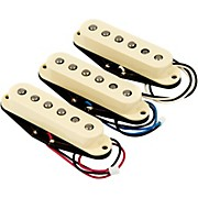 Fender Custom Shop Fat '50s Solderless Stratocaster Guitar Pickup Set