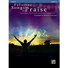 Alfred Favorite Songs of Praise (Horn in F Version)