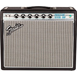Fender '68 Custom Princeton Reverb 12W 1x10 Tube Guitar Combo Amp with Celestion Ten 30 Speaker (2272000000)