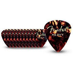 Fender 351 Standard Guitar Picks (198-0351-900)