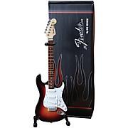 Hal Leonard Fender 60th Anniversary Stratocaster Miniature Guitar Replica