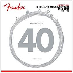 Fender 7250-5L Super Bass Nickel-Plated Steel Long Scale 5-String Bass Strings - Light (0737250453)