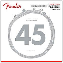 Fender 7250-5M Super Bass Nickel-Plated Steel Long Scale 5-String Bass Strings - Medium (0737250456)