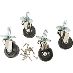 Fender Amplifier Casters with Hardware Set of 4 (099-4000-000)