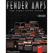 Hal Leonard Fender Amps The First Fifty Years Book