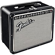Hal Leonard Fender Black Tolex Metal Lunch Box