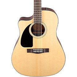 Fender CD100 CE Left-Handed Cutaway Acoustic-Electric Guitar (0961531021)