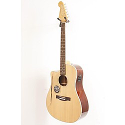 Fender California Series Sonoran SCE Left-Handed Dreadnought Cutaway Acoustic-Electric Guitar (USED007009 0968027021 OLD)