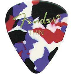 Fender Classic Celluloid Confetti Guitar Pick 12-Pack (098-0351-750)