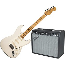 Fender Eric Johnson Stratocaster Electric Guitar and 65 Princeton Amp Package (KIT881658)
