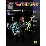 Hal Leonard Fender G-Dec Jimi Hendrix Smash Hits Guitar Play-Along Songbook/SD Card