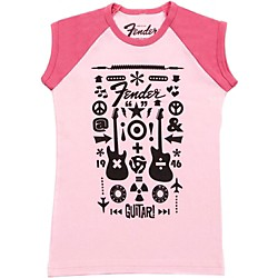 Fender Guitar Formula Youth T-Shirt (9103080406)