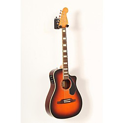 Fender Malibu SCE Solid Top Cutaway Acoustic-Electric Guitar (USED005006 0968602032)