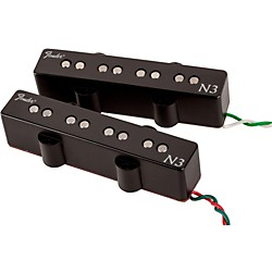 Fender N3 Noiseless Jazz Bass Pickups Set of 2 (099-3117-000)