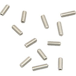 Fender Original Strat Bridge Height Screws (12) (099-4928-000)