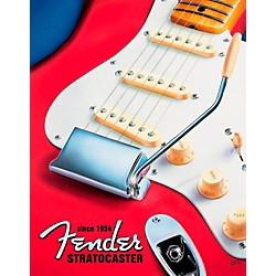 Fender Red Stratocaster Tin Sign (9190670406)