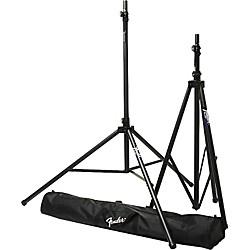 Fender ST-275 Tripod Speaker Stand Set with Carrying Bag (0699001000)