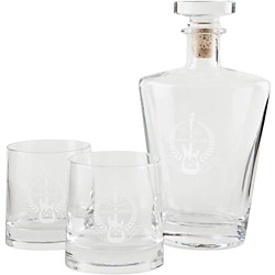 Fender Stratocaster 60th Anniversary Glass Decanter Set (9124771406)