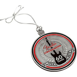 Fender Stratocaster 60th Anniversary Pewter Ornament (9100201806)