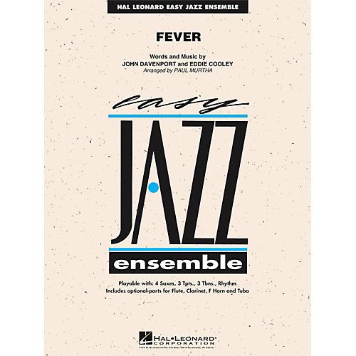 Hal Leonard Fever - Easy Jazz Ensemble Series Level 2-thumbnail