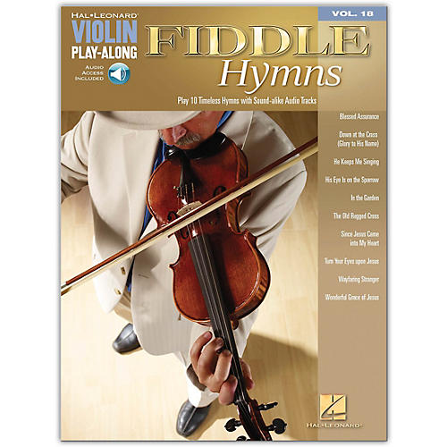 Hal Leonard Fiddle Hymns - Violin Play-Along Volume 18 (Book/CD)