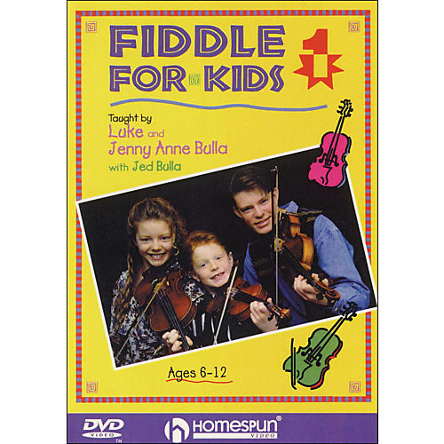Homespun Fiddle for Kids, Lesson One (DVD)-thumbnail